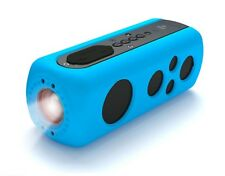 New Pyle Pwpbt75Bl SoundBox Splash 2 Bluetooth Rugged Speaker/Flashlight Aux In