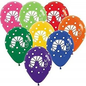 The Very Hungry Caterpillar Party Balloons Latex 30cm Helium Quality