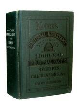 ANTIQUE COOKBOOK FARM GUIDE 1907 HOME MEDICAL BEES SOAP WOOD METAL WORK MECHANIC