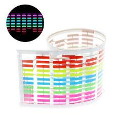 45 x 11cm Sound Music Activate Sensor Car Auto Sticker LED Light Equalizer Glow