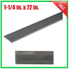 Steel Flat Bar 1 14 X 72 Inch Metal Stock Fastener 18 Inch Thick Plain Finish
