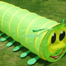 Hot Play Caterpillar Tunnel Toy Tent Pop Up Discovery Tube Gift Playhut For Kids