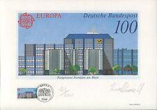 PHILARTES-EDITION 1990 BUND 1462 EUROPA CEPT RARE!! z1254