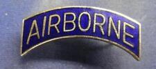 US ARMY AIRBORNE TAB PIN - BLUE TAB - CB - #USB1230