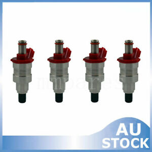 4x Fuel Injector  For Mazda B2600 UF Ford Raider Courier 2.6L G6 G609-13-250 New