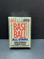Sealed 1990 Fleer Baseball All Stars Logos Stickers and Cards Ken Griffey Jr Set