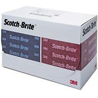 3M Scotch-Brite 64659 Durable Flex Hand Pads, Case of 25 Pads in Total
