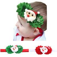 Headband Hair Bands Children Accessories Baby Flower Headwear Christmas Gift EB
