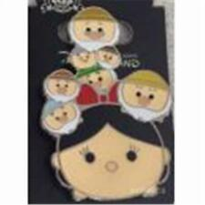 2015 Tsum Tsum Slider Series- Snow White & The Seven Dwarfs Disney Pin 107455
