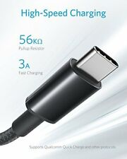Anker USB C Kabel auf USB 2.0 2 Stück]1,8 m Doppelt-geflochtenes Nylon Type C