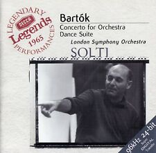 BARTOK : KONZERT FÜR ORCHESTER, U.S.W. - LSO, SOLTI / CD - TOP-ZUSTAND