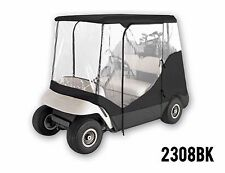 EZ GO YAMAHA GOLF CLUB CART COVER ENCLOSURE COVER 2 SEATER STORAGE ZIPPERED DOOR