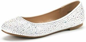 DREAM PAIRS Women's Ballet Flats Pointed Toe Slip On Comfort Flat Shoes