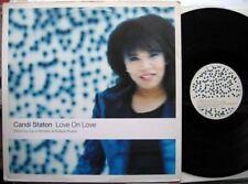 "12"" MX CANDI STATON LOVE ON LOVE 1999 MORALES RIVERA UK"
