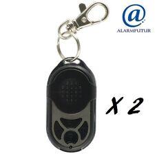 Lot de 2 télécommandes PB-433RII (4 fonctions) pour alarme sans fil Atlantic'S
