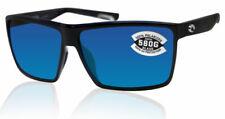 Costa Del Mar Rincon Polarized Blue Lens Shiny Black Sunglasses