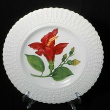 Royal Cauldon Flowers of the Caribbean Blue Mahoe luncheon plate. 3675B