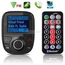 Sans fil Kit FM Transmetteur MP3 musique USB TF AUX lecteur mains Bluetooth