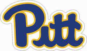 5 Inch Pitt Football Helmet Logo Decal University of Pittsburg Panthers PA Removable Wall Sticker Art NCAA Home Room Decor 5 by 4 Inches