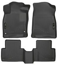 Husky WeatherBeater Black Floor Liners fits 2016-17-18-19 Honda Civic F&R 98461