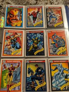 1990 Marvel Universe Series 1 Trading Cards rare cards in NM/M PSA READY COND.