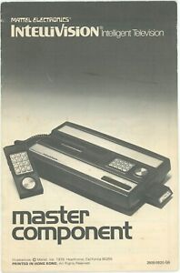 Intellivision Master Component Manuals