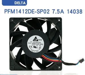 DELTA PFM1412DE-SP02 14038 14cm 12V 7.5A 4 lines large air volume fan