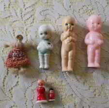 Lot Of Antique Tiny Dolls