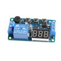 DC 12V LED Display Digital Delay Timer Control Switch Module PLC Automation 1pc
