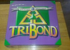 TRIBOND Board Game 1992 NEW What Do These 3 Things Have in Common? 12yr and Up