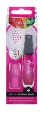 Travalo Refillable Perfume Bottle Travel Atomiser Ice Pink 5ml