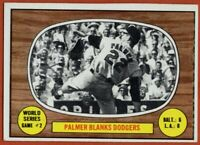 1967 Topps #152 Jim Palmer VG-VGEX MISCUT Baltimore Orioles FREE SHIPPING