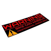 2x Bike Sticker Warning Aufkleber Motocross 15cm Supermoto Powerparts KTM smc