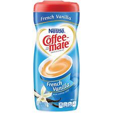 NEW NESTLE COFFEEMATE FRENCH VANILLA COFFEE CREAMER 15 OZ FREE WORLDWIDE SHIP
