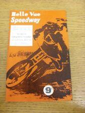 20/05/1967 SPEEDWAY programma: World Championship qualificazioni ROUND [a Belle Vue