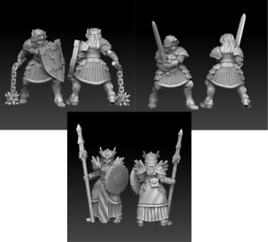 Warrior Maidens D&D Onmioji  28mm 32mm