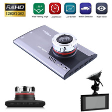 Fisheye Lens Car 1080P HD Dash Camera DVR Cam Night Vision Driving Recorder