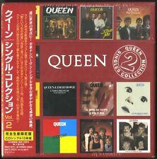 QUEEN: Juego Caja - SINGLES COLLECTION VOLUMEN 2 - Japón - NUEVO