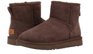 UGG Classic Mini II Chocolate Boot Women's US sizes 5-11/36-42 NEW!!!