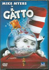 Il gatto (2004) DVD NUOVO Bo Welch. Mike Myers. Alec Baldwin. Dakota Fanning.