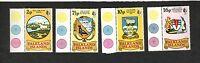 Falkland Islands SC #241-44 COAT OF ARMS  MNH stamps