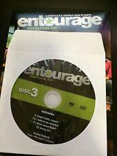 Entourage - Season 3 Part 1, Disc 3 REPLACEMENT DISC (not full season)