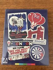 An American Werewolf In London Blu-Ray Arrow SteelBook Diabolik Slipcase Dmg