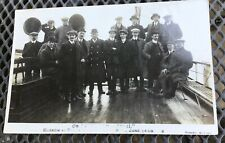 """More details for rp postcard barrow furness to fleetwood """"on board the philomel"""
