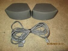 A Pair of Speakers and Wires Bundle Bose 3-2-1 / Cinemate / Free Style