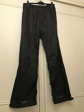"""Mountain Life 'Downpour' Waterproof Over Trousers Black Size XXX Large 46"""" Waist"""
