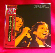 Simon And Garfunkel The Concert In Central Park MINI LP CD JAPAN SICP-1540
