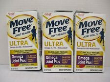 3 Schiff MOVE FREE JOINT HEALTH ULTRA OMEGA JOINT PLUS 30 EACH EXP 3/21+ CB 5403
