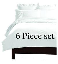 King Size Deep Pocket (6) Piece Super Extra Soft Bed Sheet Set W/ 4 Pillow Cases