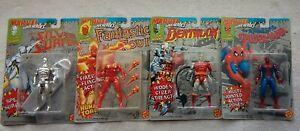 Lot of 4 Marvel Cosmic Defenders Action Figures